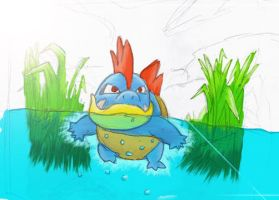 my first Croconaw by Kyobelachyo
