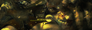 Myriad Abstract by bLithium