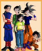 GENDER BENDER SON FAMILY by Sandra-delaIglesia