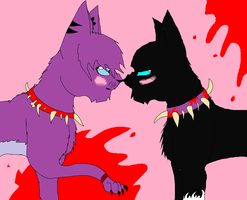 Scourge X Cloudy by CheezBugerz