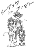 Bardock Family! (Sketch) by grifox