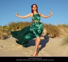 Green Silk 18 by faestock