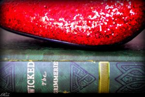 Wicked Ruby Red Slippers 4 by Poet515