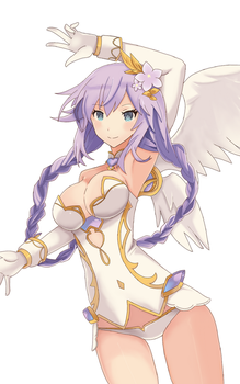 Purple Heart ( Four Goddess Online) by NICOTINE29