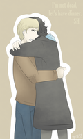 BBC Sherlock - Hug by Dyamirity