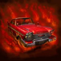CHRISTINE - A Plymouth from hell - by Dessin75