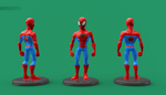 Spidey 3D by blacksmiley