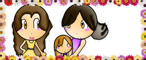 Alice, Bella and Renesmee by Pink-star-15