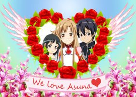 .: Asuna Love :. by Sincity2100