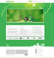 Website Tribo by leofiger