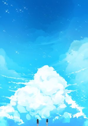 Study 14: Clouds by teagirl-vn