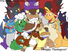 ":Happy Thanksgivin'"" by PlumpProductions"
