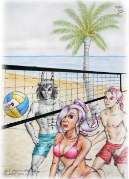 MPD Beach Volley by Lisa-Art