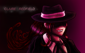 Claire Redfield - Mafia style by GlacierAura
