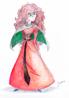 Merida's Daughter (Request) by TreepeltA113
