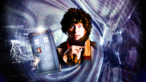 4th Doctor Wallpaper by JaseTheAvenger
