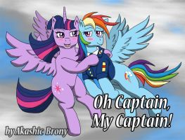 Oh Captain My Captain! by Sword-of-Akasha