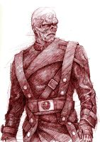 Captain America - Red Skull by ojerry