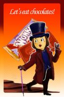 CHIBI WILLY WONKA by rhythmicStars