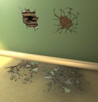 Wall Damage by enerJohn79