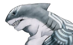 Shark man by Reef1600