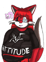 AT: Red Chubbby Foxy by sheezy93