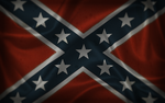 Confederate Battle Flag by Evad1