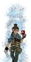 Avatar: Modern Warfare - Katara by MoeAlmighty