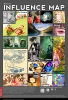 Influence map by Mee-Lin