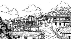 Town Study by Sokkhue