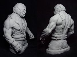 Bane Sculpture Back and Side Angles by Danwhitedesigns