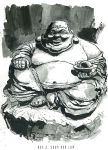 Not so laughing Buddha by southercomfort