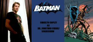 New Batman Fan Cast - Scarecrow - Sharlto Copley by RobertTheComicWriter