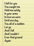 .:Poem:. I couldn't ever find ground again by MelinaThePoet
