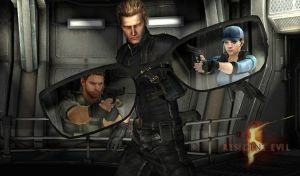 Wesker Battle by toughraid3r37890