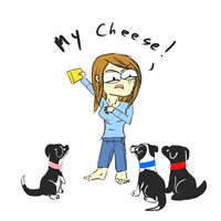 My Cheese! by SilverSoulArtist