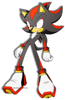 Shadow The Hedgehog by BloomPhantom
