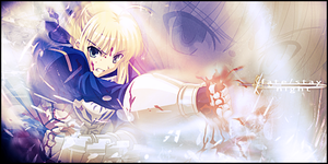 Saber - Fate of a Servant by FireBomb9