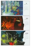 Cartoon Calendar by BrianAW