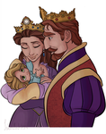 Colouring Practice - Tangled by IslandWriter
