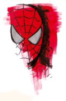 Marvel Blur - Spidey by mariocau