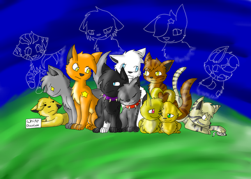 Group Picture by TwilightTheEevee