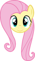 Fluttershy Face by PaulySentry