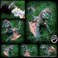 Rhaegal - Game of Thrones Poseable Dragon by SonsationalCreations