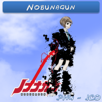 Nobunagun ICO,PNG & Folder by bryan1213