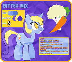 OC Reference: Bitter Mix by Narflarg