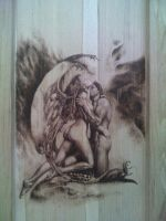 Pyrography by SherPic