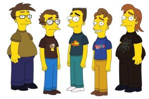 Merce Crew Simpson-ified by Skelefish