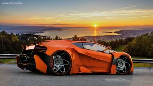 Lamborghini SINISTRO by ThebianConcepts by mcmercslr