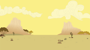 Appaloosa Desert by SpaceKingofSpace